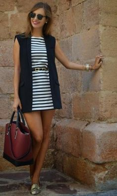 Vista o Look Vest Outfits, Casual Outfits, Cute Outfits, Fashion Outfits, Womens Fashion, Fashion Trends, Fashion News, Fashion Sale, Paris Fashion