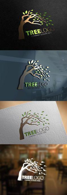 Tree Logo. Best Wedding Template. $28.00