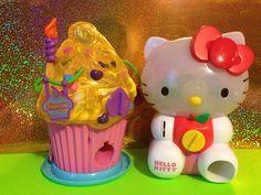 2 ~ Blip Toys, Squinkies Cupcake & Hello Kitty Dispensers #Squinkies