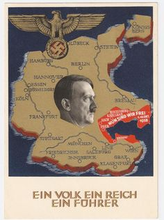 : Picture postcards and topics Third Reich Propaganda, Elections, Sudetenland Klagenfurt, Historic Posters, German Stamps, Ww2 Posters, Nazi Propaganda, Berlin, Picture Postcards, Historical Pictures, World War Two