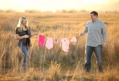 Surprise Gender Reveal! Southern Oregon professional maternity photographer » Southern Oregon Professional Newborn Portrait Photography by Mandy Kay Photography