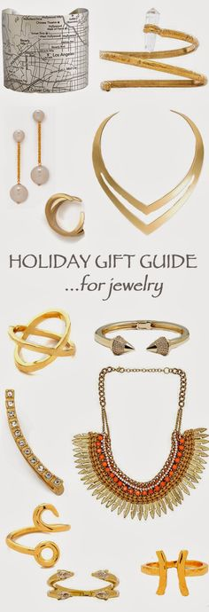 Holiday Gift Guide: Jewelry for under $60! All unique pieces - I'm especially loving that LA metro bracelet!