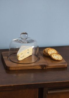 The Best You Can Brie Cheese Board Set. For your soiree tonight, youve scouted the best snacks to entertain your friends, so display your fine foods with this cheese board and dome! #multi #wedding #modcloth