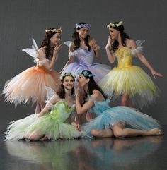 Fairies in The Sleeping Beauty  Ballet,
