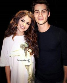 Selena Gomez and Dylan O'Brien Edit