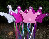 How cute are these? Princess Wands :)