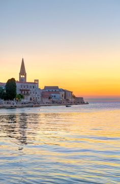More family holiday fun in Istria from the Daily Mirror   Sunset over Porec
