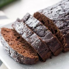 Recipe: Skinny Dark Chocolate Zucchini Bread | Skinny Mom | Where Moms Get the Skinny on Healthy Living