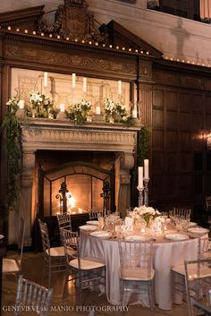 A Harvard Club wedding - Photo courtesy of Genevieve de Manio Photography.