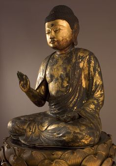 Amida, el Buda del Paraíso Occidental, 12th Century Japanese Art Collection Peabody Essex Museum