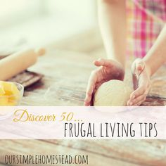 Over the years I've collected hundreds of frugal living tips. Some I've used are great while others were not worth keeping, but I'll let you be the judge. Best Money Saving Tips, Ways To Save Money, Saving Money, Frugal Living Tips, Frugal Tips, Frugal Recipes, Household Budget, Budgeting Finances, Budgeting Tips