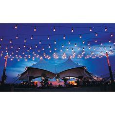 Guirlande lumineuse de 14.63 m (48 pi) à 36 ampoules de qualité commerciale pour l'intérieur et l'extérieur