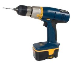 This power tool is used for drilling holes.    この電動工具は穴を開けるために使う。