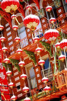 Chinese Lantern Explosion