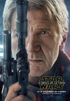 Harrison Ford - Star Wars 7 #HarrisonFord #Starwars 2015 : Star Wars, épisode VII : Le Réveil de la Force de J. J. Abrams : Han Solo