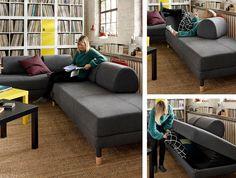 Flottebo Sleeper Sofa Lysed Green Home For The Holidays