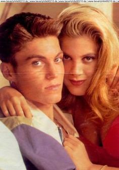 David and Donna - beverly-hills-90210 photo | start cross lovers ...