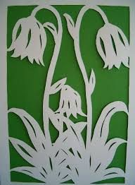 Kirigami, Paper Stars, Scroll Saw Patterns, Wooden Puzzles, Flower Making, Easter Crafts, Flower Patterns, Paper Cutting, Quilling