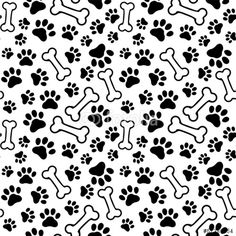 Find Seamless Background Pet Paw Print Bone stock images in HD and millions of other royalty-free stock photos, illustrations and vectors in the Shutterstock collection. Thousands of new, high-quality pictures added every day. Paw Print Background, Seamless Background, Vector Background, Paw Patrol Party, Paw Patrol Birthday, Imprimibles Paw Patrol, Cumple Paw Patrol, Bone Stock, Dog Wallpaper
