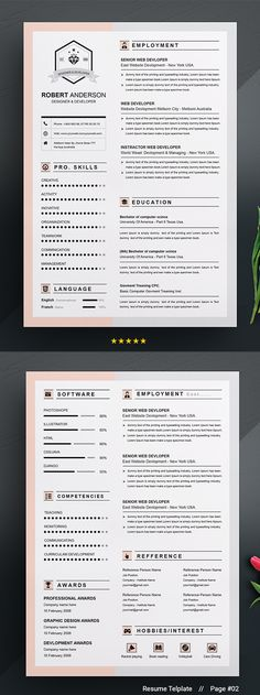 Val Olino (eatfoodeatitthr) on Pinterest - apple pages resume templates