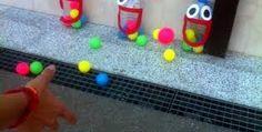 Resultado de imagen para manualidades con botellas de plastico para niños de preescolar