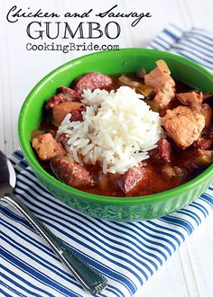 Chicken and Sausage Gumbo - CookingBride.com
