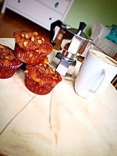 Muffiny jabłkowo-migdałowe