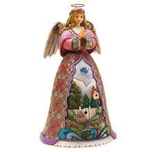 Jim Shore® Spring Renews the Spirit Angel