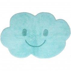 Tapis lavable Nimbus nuage bleu (75 x 115 cm)  - Nattiot