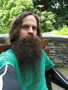 for men who love long bearded men Walrus Mustache, Beard No Mustache, Great Beards, Awesome Beards, Hairy Men, Bearded Men, Long Beard Styles, Clean Shaven, Long Beards