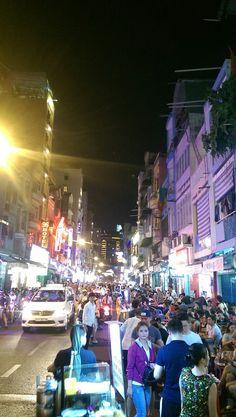 Vietnam night street life