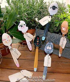 Gambe lunghe Amici Cucchiaio pattern - cute spoons