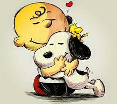 Abrazo De Snoopy - La Amistad No Tiene Límites!