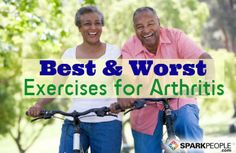 When your joints ache, exercise is probably the last thing you're in the mood for, but it's exactly what you need to feel better.