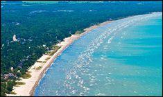 Wasaga Beach, Ontario Worlds longest freshwater beach.  My yearly vacation spot :) https://www.playa-vacation.com