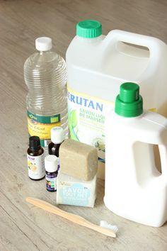 tous les produits pour nettoyer sa maison