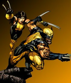 X-23 and Wolverine by David Finch