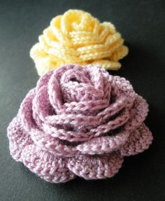 The perfect crochet rose (Pattern)