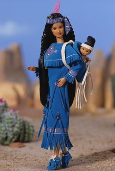 American Indian Barbie® Doll #2 1997 - barbie-dolls-collection Photo