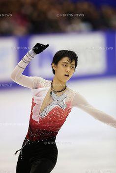 Yuzuru Hanyu (JPN), .December 22, 2012 - Figure Skating : .Japan Figure Skating Championships, Men's Free Skating .at Makomanai Ice Arena, Hokkaido, Japan. .(Photo by Daiju Kitamura/AFLO SPORT)