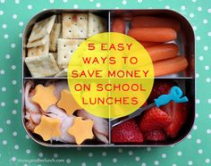 5 Easy Ways to Save Money on School Lunches