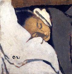 Girl Sleeping Edouard Vuillard - 1892 (by BoFransson) Sleeping Women, Girl Sleeping, Pierre Bonnard, Edouard Vuillard, Figure Painting, Painting & Drawing, Felix Vallotton, Art Cube, Beaux Arts Paris