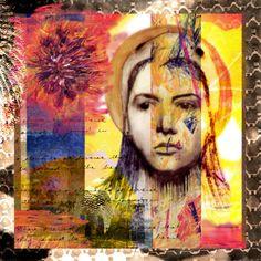 digital collage by Lauren Scevola at Coroflot