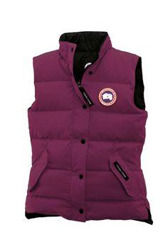 Dealextreme Canada Goose Women'S Freestyle Vest Berry