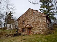 Mordecai Lincoln's Berks County, Pennsylvania home from 1733.  Mordecai Lincoln was one of Abraham Lincoln's ancestors from before the family left Pennsylvania.