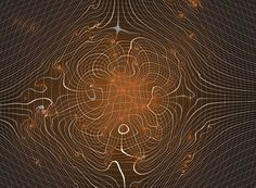 THE ART OF SPACETIME WARP :Visualizing Gravitational DistortionDark Matter Distribution Seen through Gravitational Lensing Source: Science with the LSST