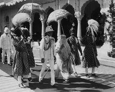 King Edward VIII e H.H -   Bhopal, Madhya Pradesh, India, 1922  ©Corbis