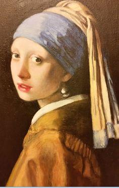 Girl with a Pearl Earring, Johannes Vermeer – copy; Dziewczyna z Perłą, Jan Vermeer, kopia obrazu;