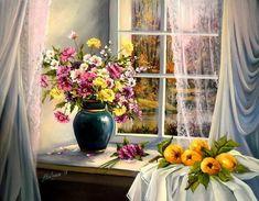 Осень в окнах: 30 поэтичных и нежных работ живописцев - Ярмарка Мастеров - ручная работа, handmade
