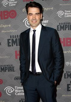 Ron Livingston at the premiere of 'Boardwalk Empire. Styling by Kemal and Karla.